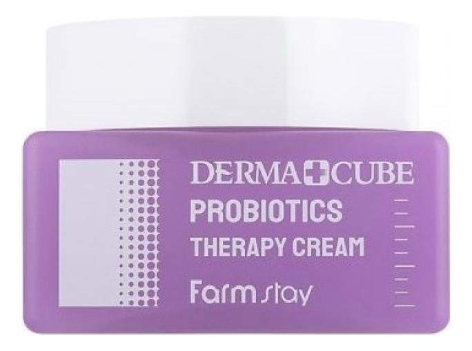 Крем для лица с пробиотиками Derma Cube Probiotics Therapy Cream 80мл недорого