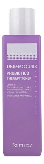 Тонер для лица с пробиотиками Derma Cube Probiotics Therapy Toner 200мл тонер для лица с пробиотиками pro balance biotics toner 100мл