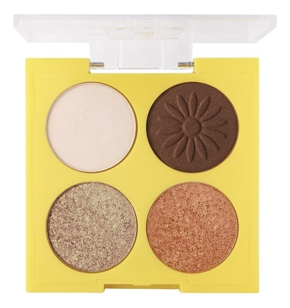 Фото - Палетка теней для век Fleur Du Soleil Eyeshadow Palette 4,8г: No 1 палетка теней для век new neutral smoked palette