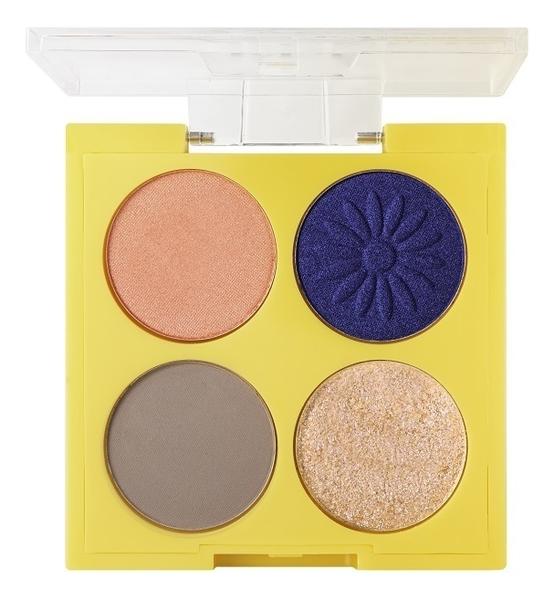 Палетка теней для век Fleur Du Soleil Eyeshadow Palette 4,8г: No 2 палетка теней для век eyeshadow palette mini paris no 03