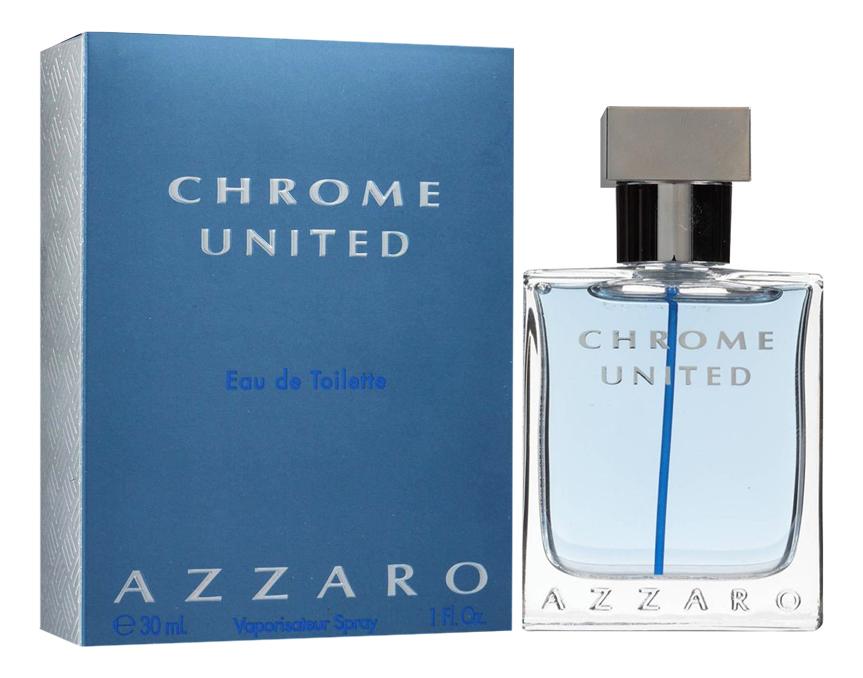 Azzaro Chrome United: туалетная вода 30мл loris azzaro azzaro couture
