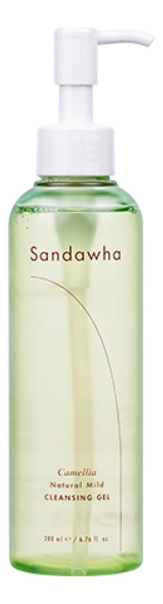Гель для умывания на основе экстракта камелии японской Camellia Natural Mild Cleansing Gel 200мл недорого