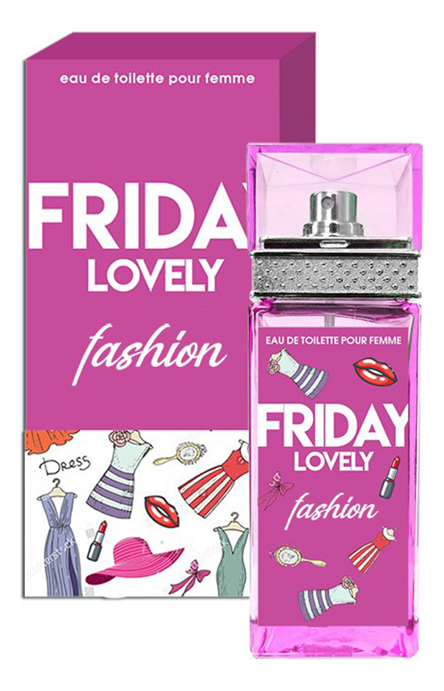 Friday Lovely Fashion: туалетная вода 100мл