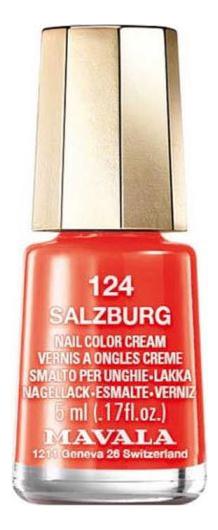 Фото - Лак для ногтей Nail Color Cream 5мл: 124 Salzburg лак для ногтей nail color cream 5мл 312 poetic rose