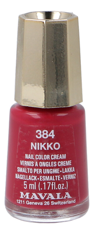Фото - Лак для ногтей Nail Color Cream 5мл: 384 Nikko лак для ногтей nail color cream 5мл 312 poetic rose