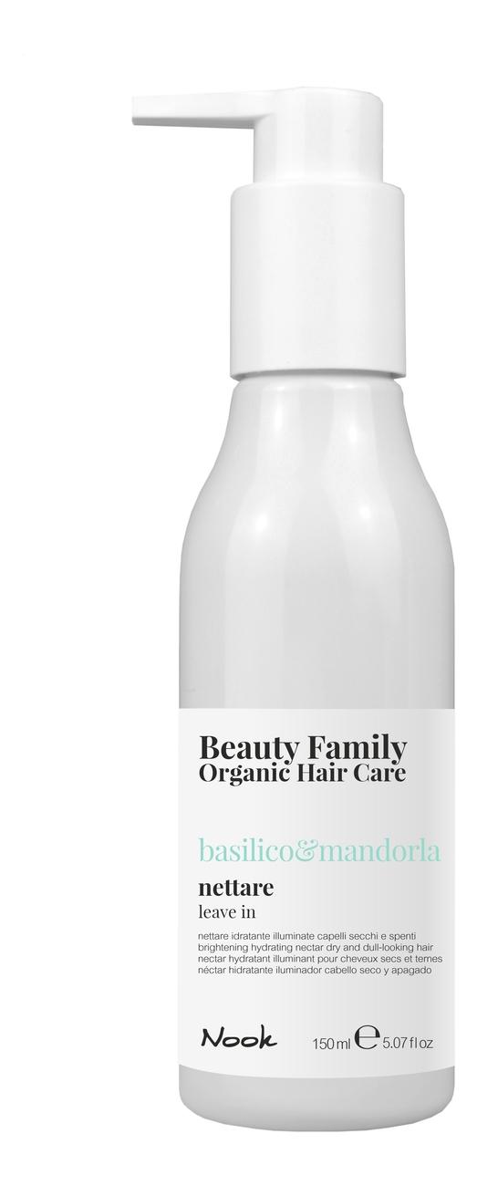 Купить Несмываемый нектар для сухих и тусклых волос Beauty Family Nettare Basilico & Mandorla 150мл, Несмываемый нектар для сухих и тусклых волос Beauty Family Nettare Basilico & Mandorla 150мл, Nook