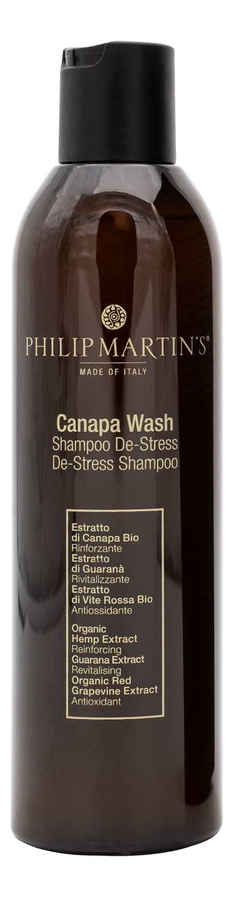 Купить Шампунь для волос Canapa Wash: Шампунь 250мл, PHILIP MARTIN`S