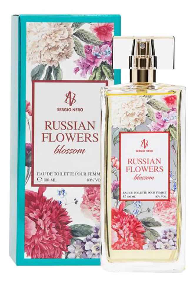 Russian Flowers Blossom: туалетная вода 100мл