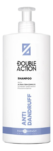 Купить Шампунь для волос против перхоти Double Action Anti-Dandruff Shampoo: Шампунь 1000мл, Hair Company