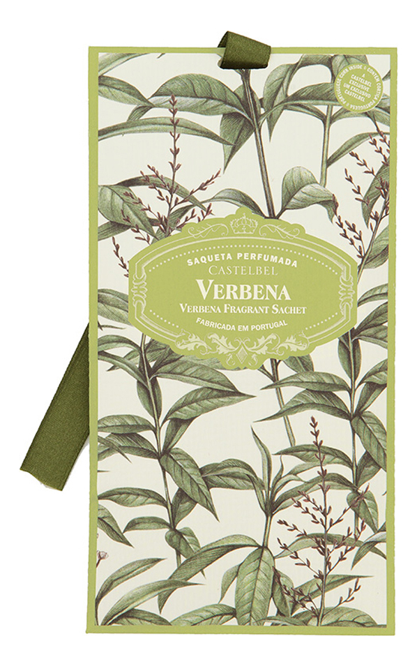 Castelbel Ambiente Verbena: ароматическое саше 10г ароматическое саше butterflies 10г