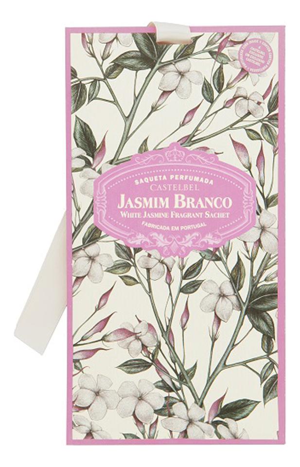 Castelbel Ambiente White Jasmine: ароматическое саше 10г ароматическое саше butterflies 10г