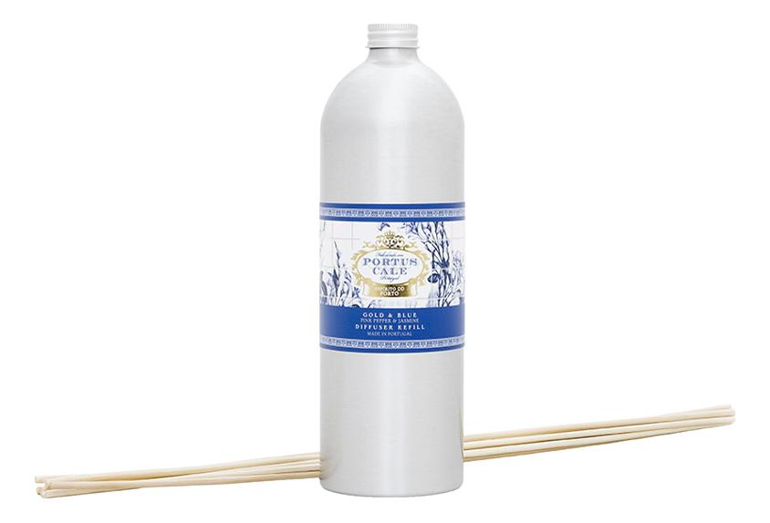 Купить Portus Cale Gold & Blue: ароматический диффузор 900мл (запаска), Portus Cale Gold & Blue, Castelbel Porto