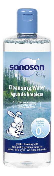 Купить Очищающая мицеллярная вода для детей Baby Cleansing Water 500мл, Sanosan