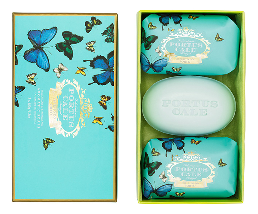 Купить Мыло Butterflies: мыло 3*150г, Castelbel Porto