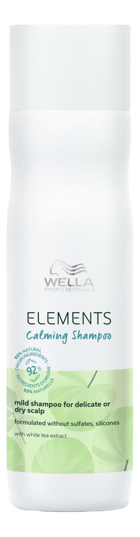 Успокаивающий мягкий шампунь для чувствительной или сухой кожи головы Elements Calming Shampoo: Шампунь 250мл