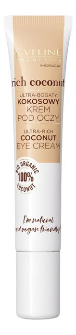 Фото - Богатый питательный кокосовый крем для кожи вокруг глаз Rich Coconut Eye Cream 20мл janssen cosmetics крем rich eye contour cream питательный для кожи вокруг глаз 30 мл