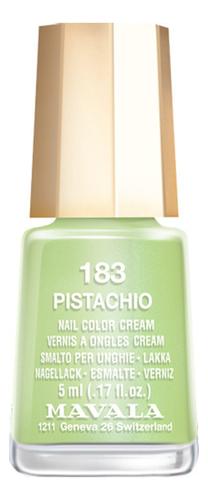 Купить Лак для ногтей Nail Color Cream 5мл: 183 Pistachio, MAVALA
