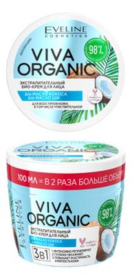 Купить Экстрапитательный био-крем для лица 3в1 Viva Organic 100мл, Eveline