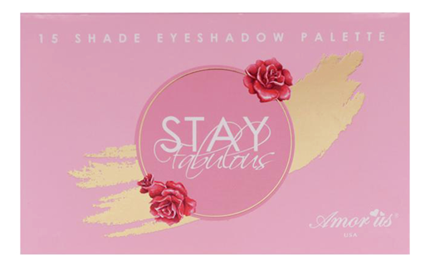 Купить Палетка теней для век Stay Fabulous, Amor Us