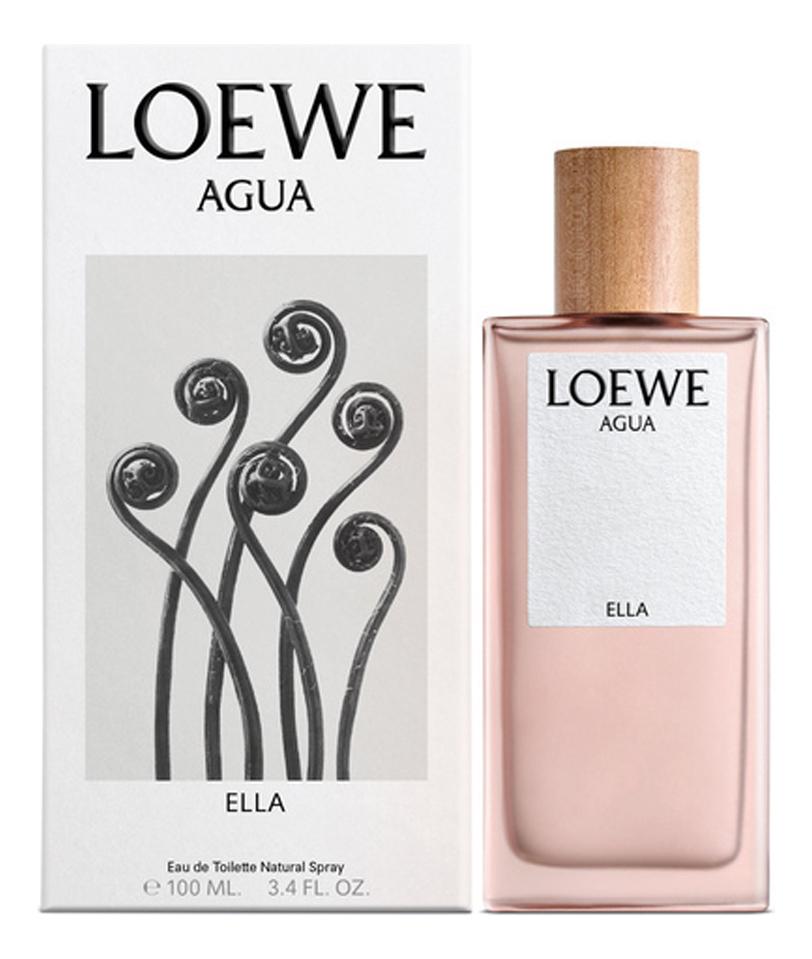 Фото - Loewe Agua De Loewe Ella: туалетная вода 100мл loewe loco