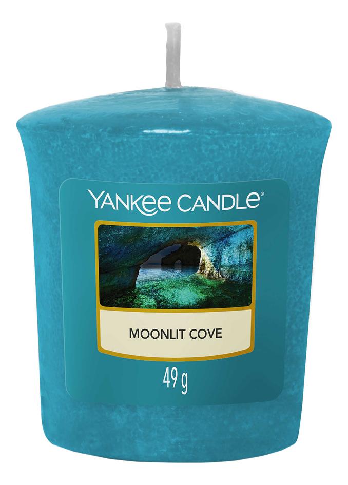 Купить Ароматическая свеча Moonlit Cove: свеча 49г, Yankee Candle