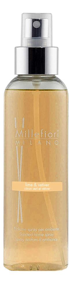 Купить Духи-спрей для дома Лайм и Ветивер Lime & Vetiver 150мл, Духи-спрей для дома Лайм и Ветивер Lime & Vetiver 150мл, Millefiori Milano