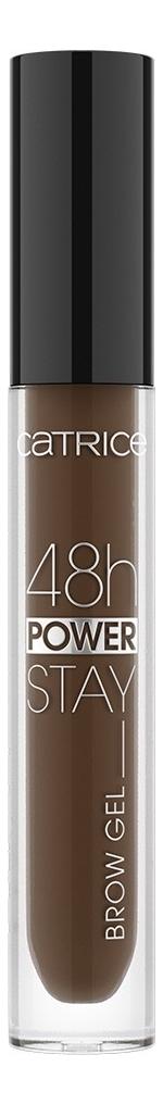 Фото - Гель для бровей 48h Power Stay Brow Gel 4,5мл: 030 Dark гель для бровей brow fix x eyebrow setting gel dark brown x