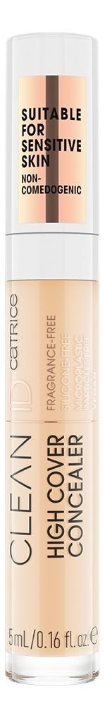 Купить Консилер для лица Clean ID High Cover 5мл: 004 Light Almond, Catrice Cosmetics