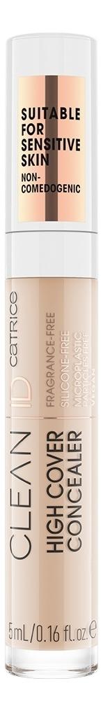 Купить Консилер для лица Clean ID High Cover 5мл: 010 Neutral Sand, Catrice Cosmetics