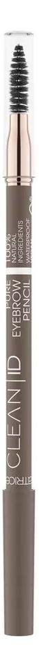 Купить Контурный карандаш для бровей Clean ID Pure Eyebrow Pencil: 030 Warm Brown, Catrice Cosmetics