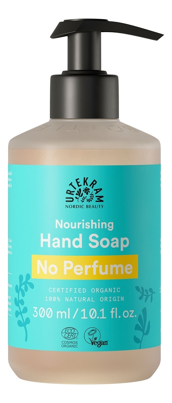 Жидкое мыло для рук без запаха Organic Nourishing Hand Soap No Perfume: Мыло 300мл