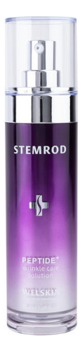 Антивозрастной тонер для лица с пептидами STEMROD Peptide Wrinkle Care Solution 50мл антивозрастной тонер для лица с пептидами bio ex cell peptide toner 130мл