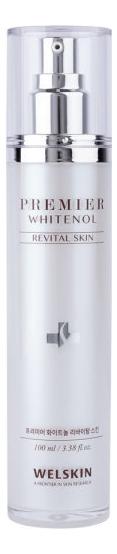 Восстанавливающий тонер для лица Premier Whitenol Revital Skin 100мл