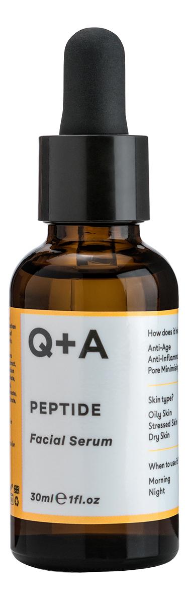Купить Сыворотка для лица с пептидами Peptide Facial Serum 30мл, Q+A