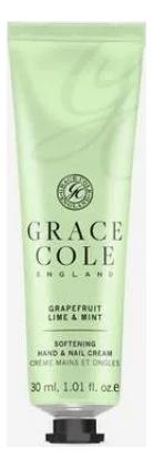 Купить Крем для рук Грейпфрут, лайм и мята Grapefruit Lime & Mint 30мл, лайм и мята Grapefruit Lime & Mint 30мл, Grace Cole