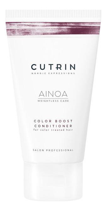 Купить Кондиционер для сохранения цвета волос Ainoa Color Boost Conditioner: Кондиционер 75мл, CUTRIN