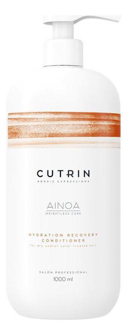 Кондиционер для увлажнения и питания волос Ainoa Hydration Recovery Conditioner: Кондиционер 1000мл кондиционер для увлажнения волос ainoa moisture conditioner кондиционер 75мл