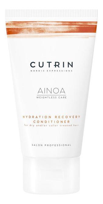 Купить Кондиционер для увлажнения и питания волос Ainoa Hydration Recovery Conditioner: Кондиционер 75мл, CUTRIN