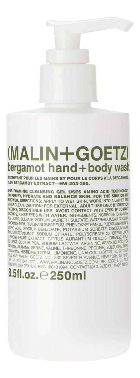 Купить Гель-мыло для тела и рук Бергамот Bergamot Hand + Body Wash: Гель-мыло 250мл, MALIN+GOETZ