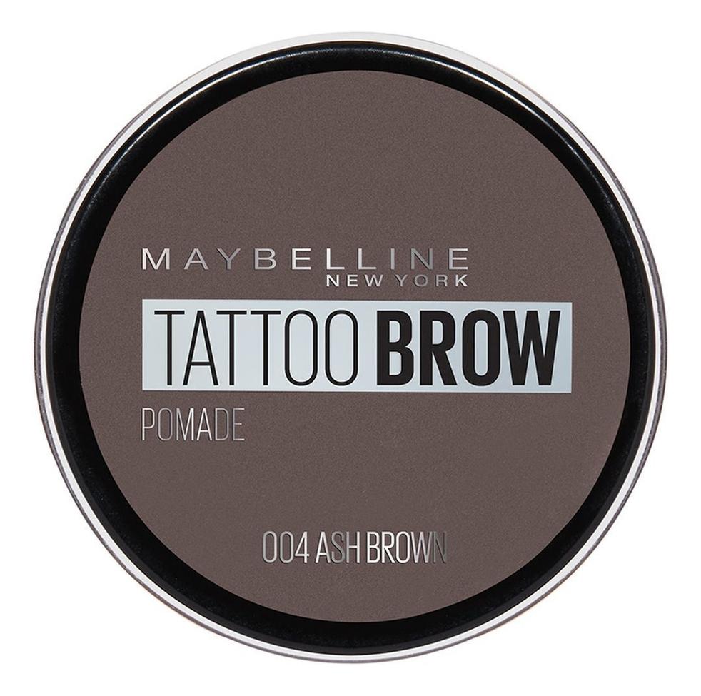 Фото - Помада для бровей Tattoo Brow Pomade 3,5г: 04 Пепельно-коричневый maybelline brow pomade