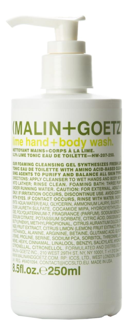 гель для душа сладкий лайм the saem touch on body sweet lime body wash 300мл Гель-мыло для тела и рук Лайм Lime Hand + Body Wash: Гель-мыло 250мл