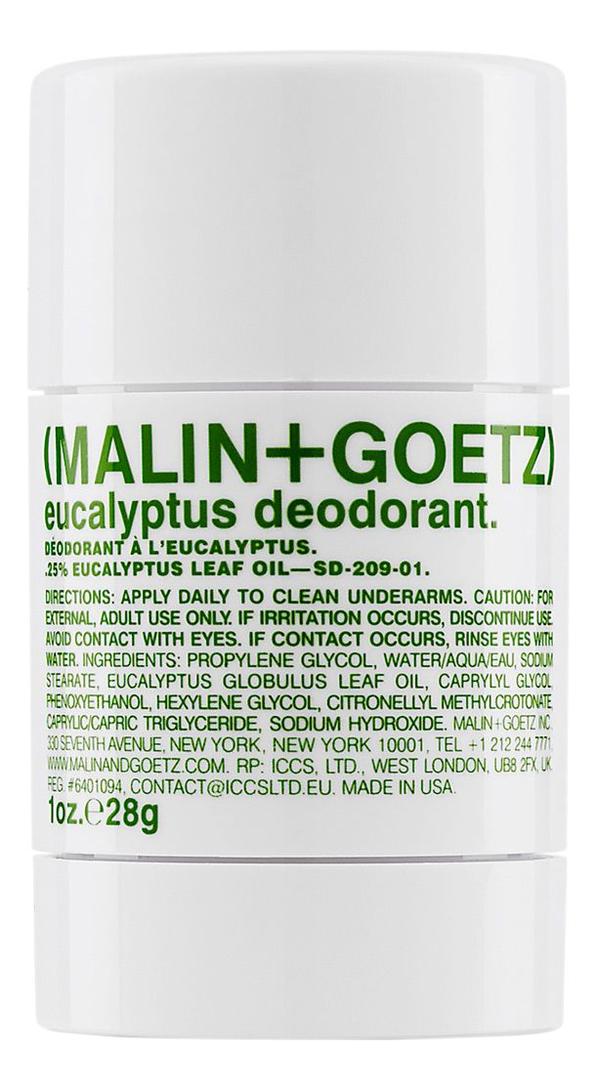Дезодорант Эвкалипт Eucalyptus Deodorant: Дезодорант 28г