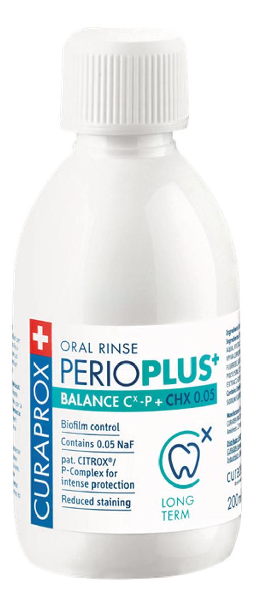 Жидкость-ополаскиватель с хлоргексидином для полости рта Perio Plus Balance CHX 0,05% 200мл