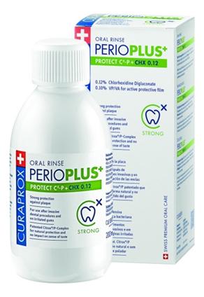 Жидкость-ополаскиватель с хлоргексидином для полости рта Perio Plus Protect CHX 0,12% 200мл