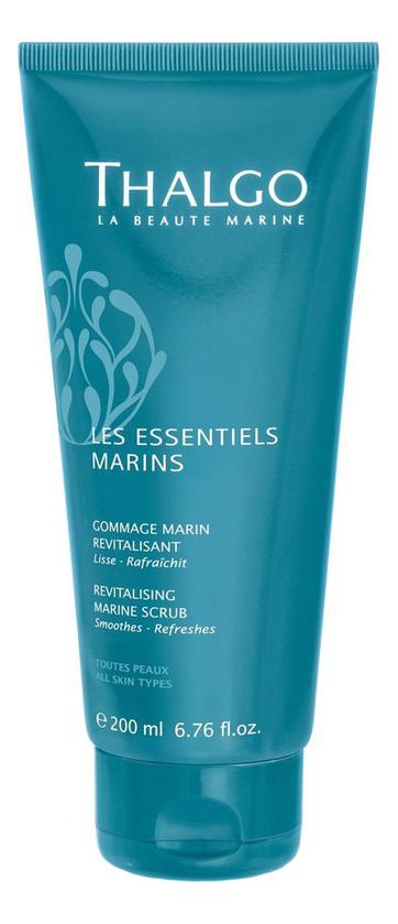 Купить Восстанавливающий морской скраб для тела Les Essentiels Marins Gommage Marin Revitalisant 200мл, Thalgo