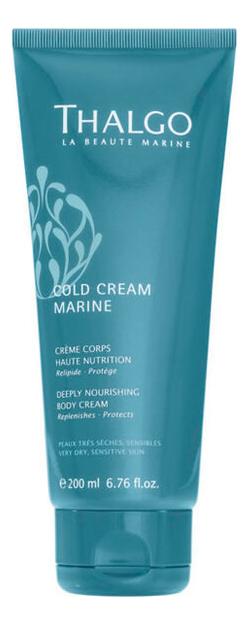 Восстанавливающий насыщенный крем для тела Cold Cream Marine Deeply Nourishing Body Cream 200мл недорого
