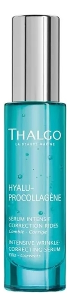 Купить Интенсивная сыворотка для разглаживания морщин Hyalu-Procollagene Serum Intensif Correctione Rides 30мл, Thalgo