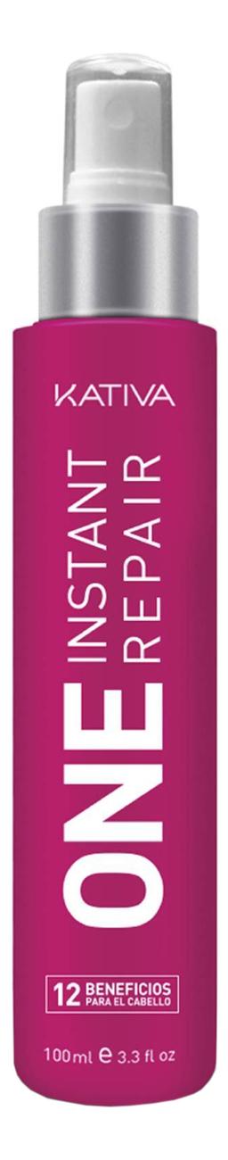 Купить Мультифункциональный спрей-уход 12 в 1 с кератином Keratina One Instant Repair 100мл, Kativa