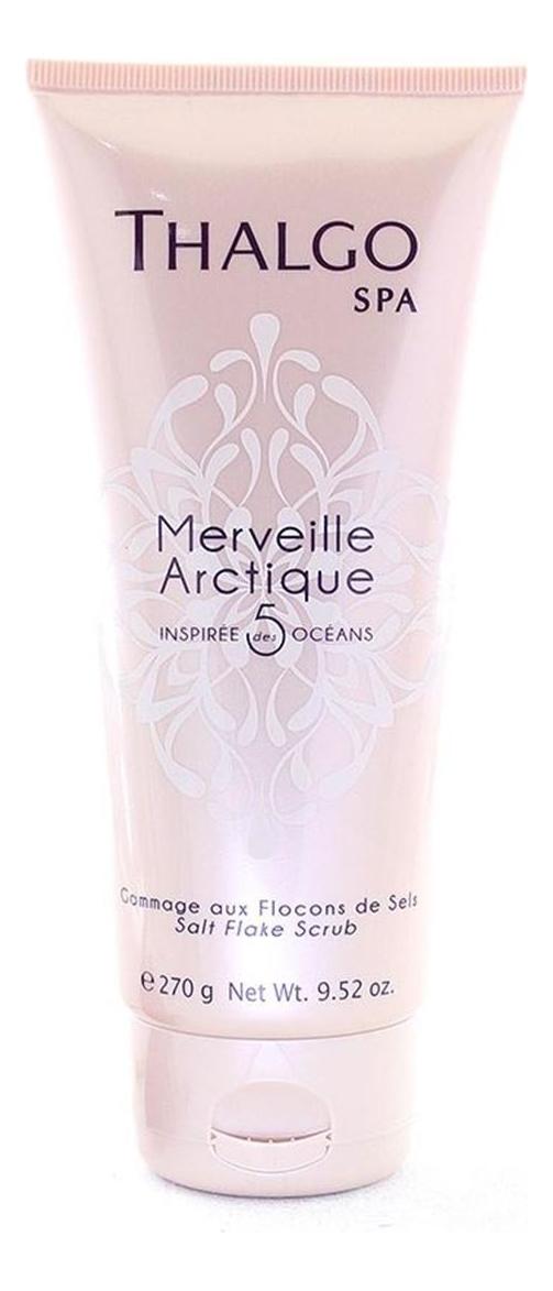 Купить Арктический снежный скраб для тела с хлопьями морской соли SPA Merveille Arctique Gommage Aux Flocons De Sels 270г, Thalgo