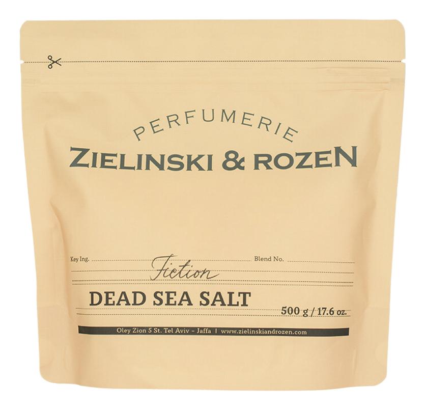 Fiction: соль мертвого моря 500г